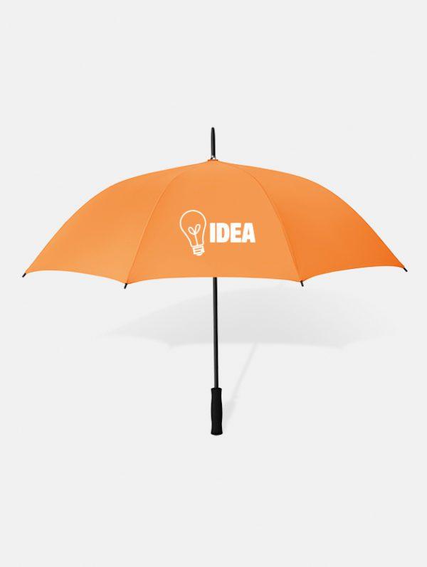Graphid promotion ombrello personalizzato swansea arancio