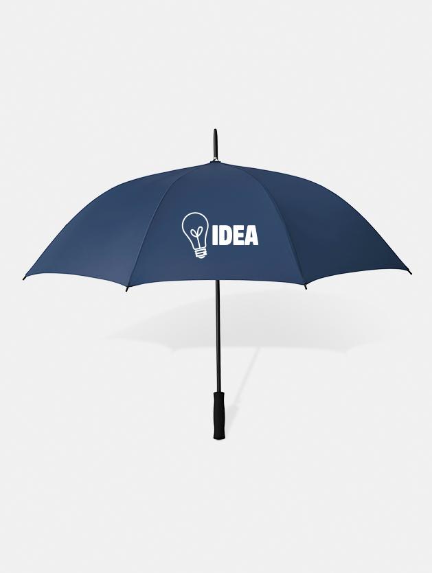 Graphid promotion ombrello personalizzato swansea blu