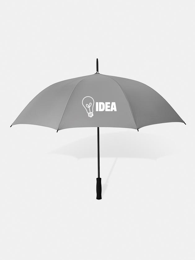 Graphid promotion ombrello personalizzato swansea grigio