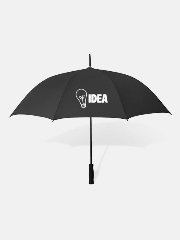 Graphid promotion ombrello personalizzato swansea nero