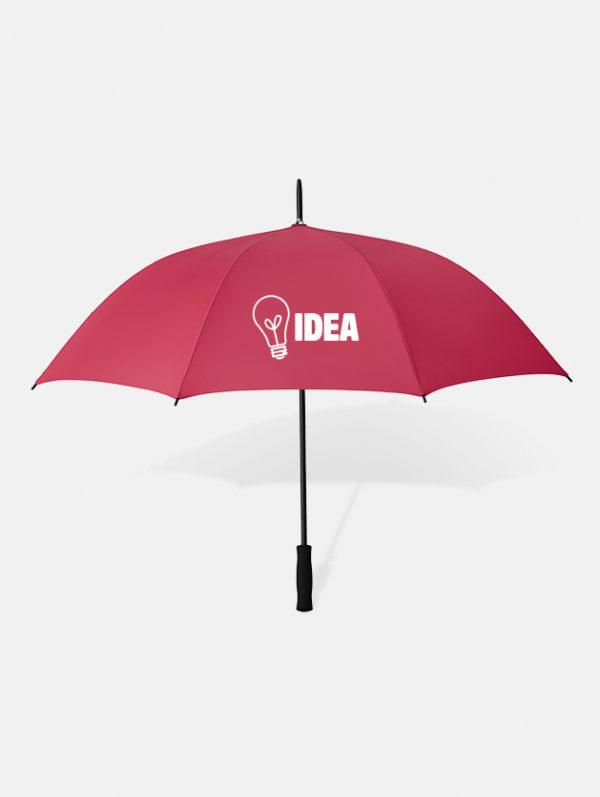 Graphid promotion ombrello personalizzato swansea rosso