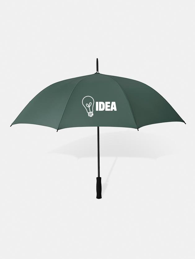 Graphid promotion ombrello personalizzato swansea verde