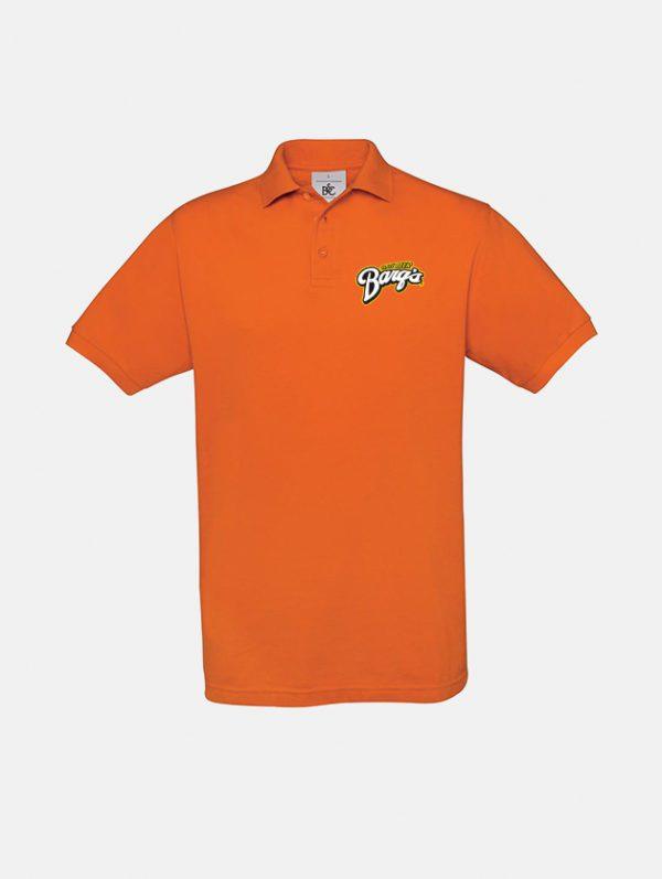 polo safran pumkin orange graphid promotion