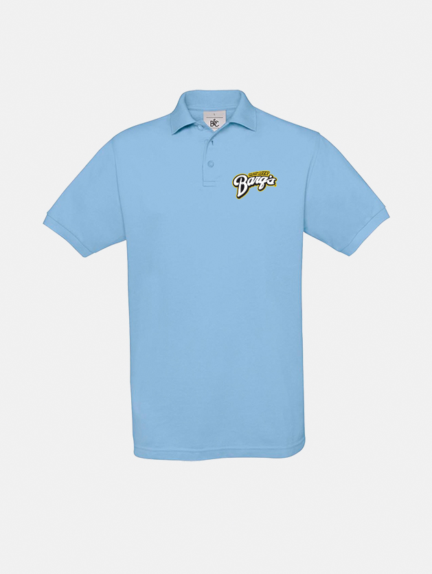 polo safran sky blue graphid promotion
