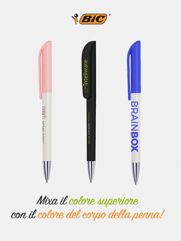 Penna bic super clip advance