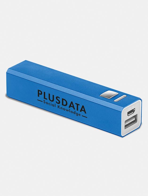 Power bank personalizzato blu royal