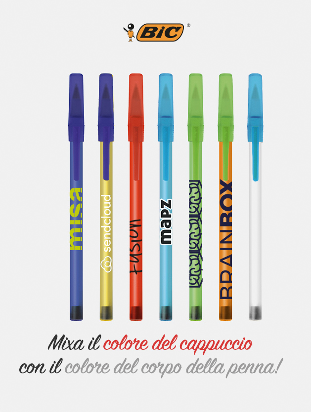 penna bic round stic frosted. alljpg