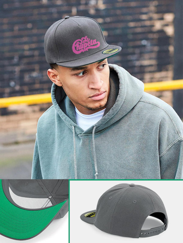 Cappelli flat snapback graphid promotion