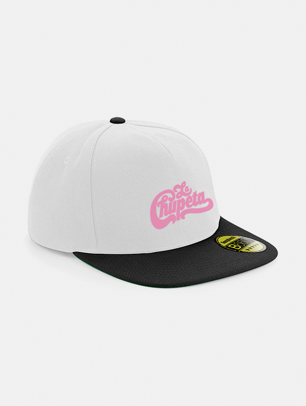 Cappelli flat snapback graphid promotion bianco nero