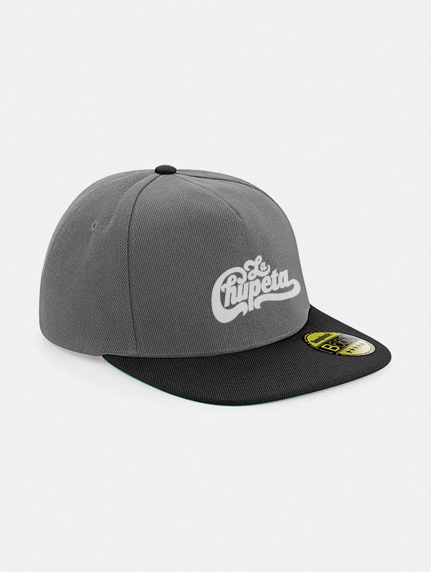 Cappelli flat snapback graphid promotion grigio nero