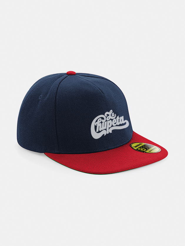 Cappelli flat snapback graphid promotion navy rosso