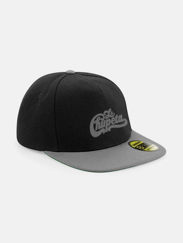 Cappelli flat snapback graphid promotion nero grigio