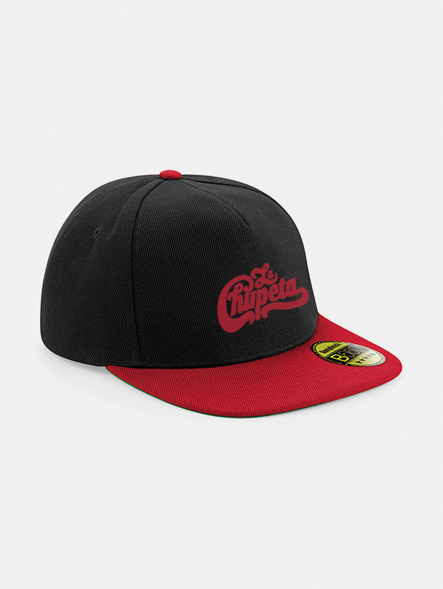 Cappelli flat snapback graphid promotion nero rosso