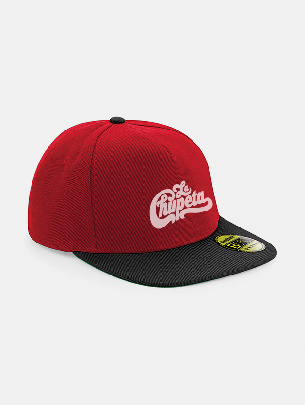 Cappelli flat snapback graphid promotion rosso nero