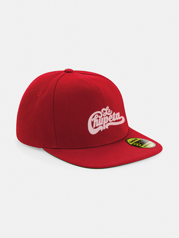 Cappelli flat snapback graphid promotion rosso