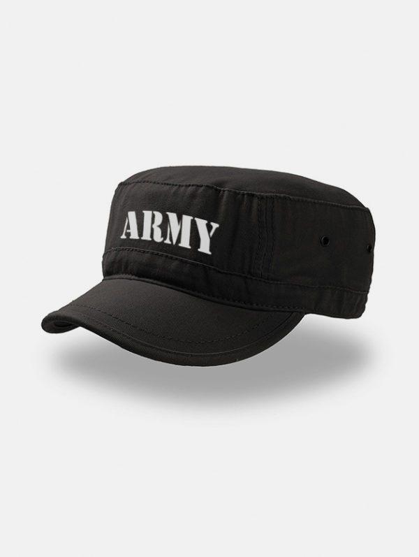 Cappello Attank Army nero