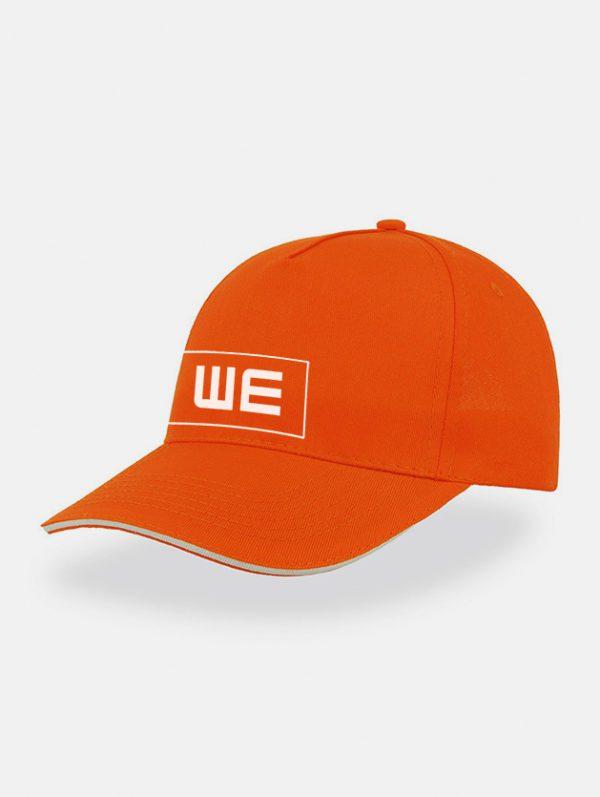 Cappello startfive sandwich arancio