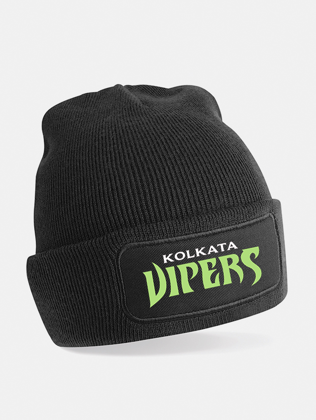cappello beanie print nero