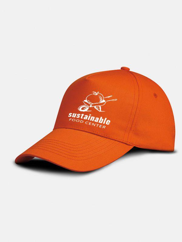 cappello promo graphid promotion arancio