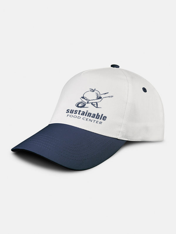 cappello promo graphid promotion bianco navy