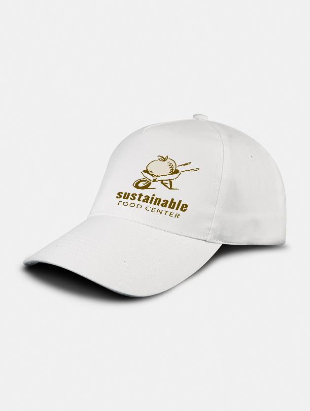 cappello promo graphid promotion bianco