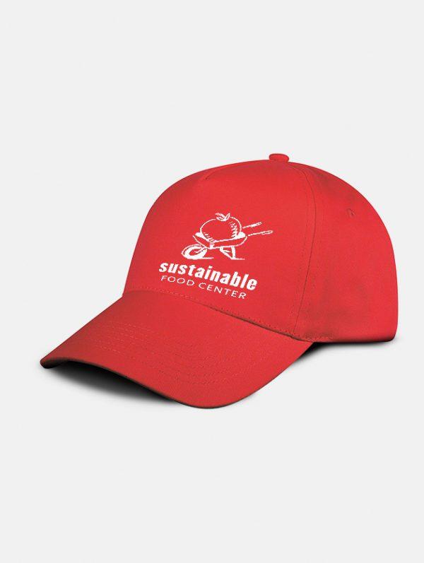 cappello promo graphid promotion rosso